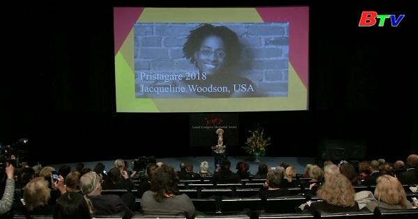 Nhà văn người Mỹ Jacqueline Woodson đạt giải tưởng niệm Astrid Lindgren