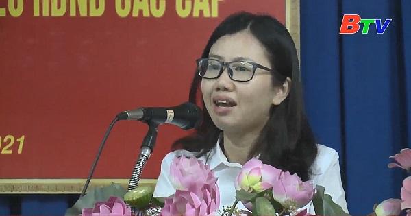 Hội nghị lấy ý kiến nhận xét và tín nhiệm của cử tri nơi cư trú phường Phú Lợi