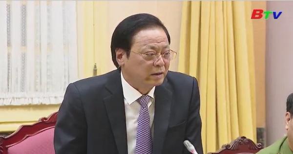 Công bố lệnh của Chủ tịch nước công bố 7 luật