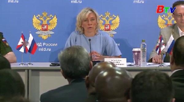 Ngoại trưởng Nga-Mỹ có thể gặp nhau để thảo luận hàng loạt chủ đề nóng