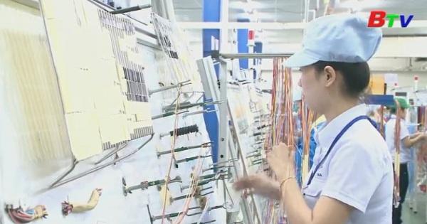 Bình Dương đạt chỉ số tăng trưởng công nghiệp (IIP) 8,9%