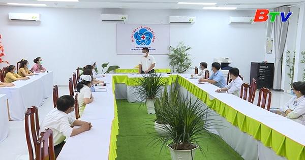 Công tác phòng dịch COVID-19 tại Trung tâm y tế huyện Bàu Bàng