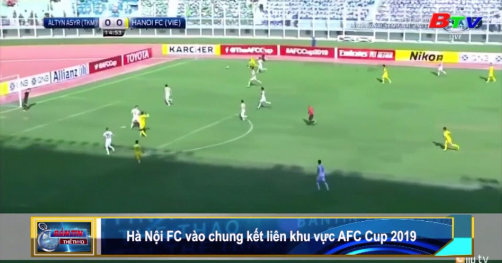 Hà Nội FC vào chung kết liên khu vực AFC Cup 2019