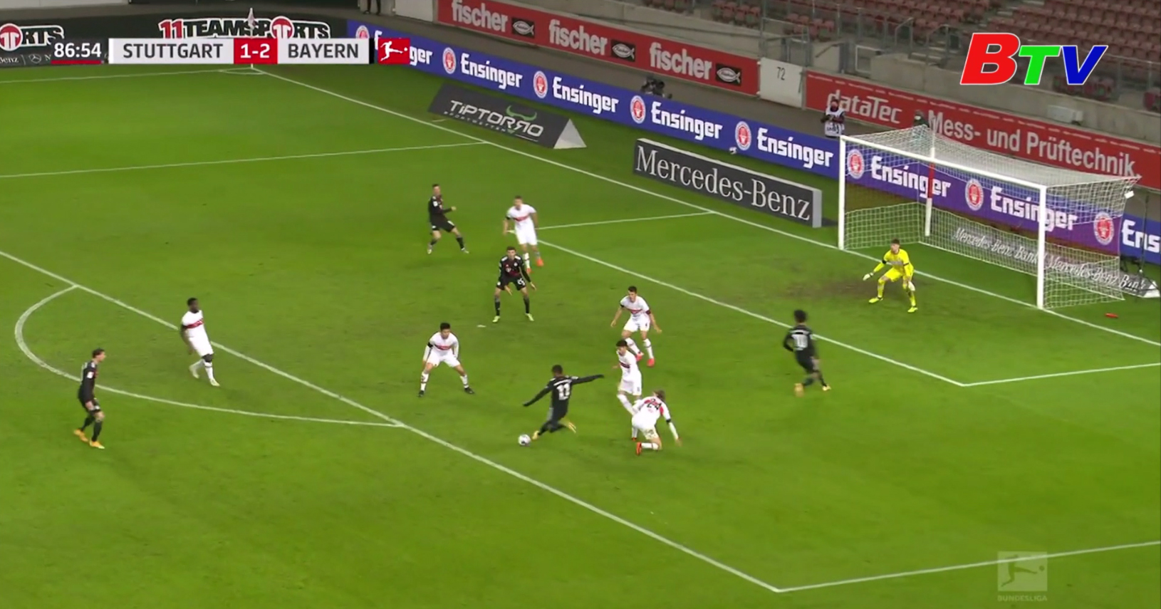 Vòng 9 Bundesliga – Stuttgart 1-3 Bayern Munich
