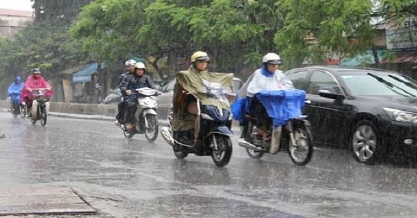 Trung và Nam Trung Bộ mưa lớn diện rộng