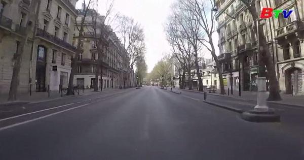 Khung cảnh yên bình của thủ đô Paris