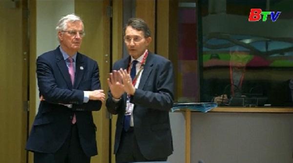 Lãnh đạo EU nhất trí thông qua lập trường đàm phán