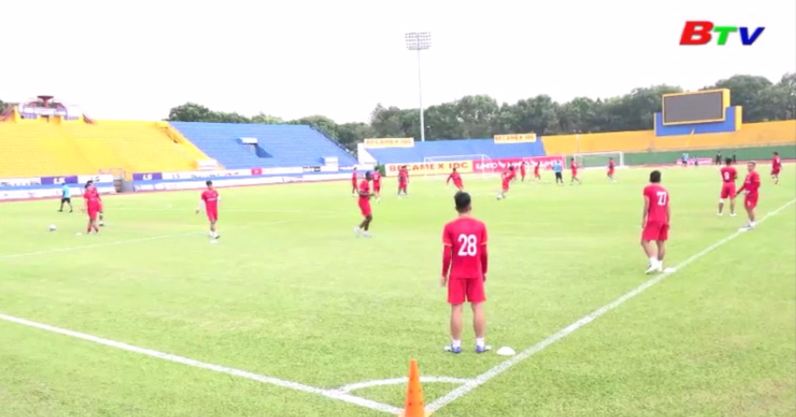 Vòng 1/8 Cúp Quốc gia 2020 - Sân Bình Dương mở cửa đón khán giả