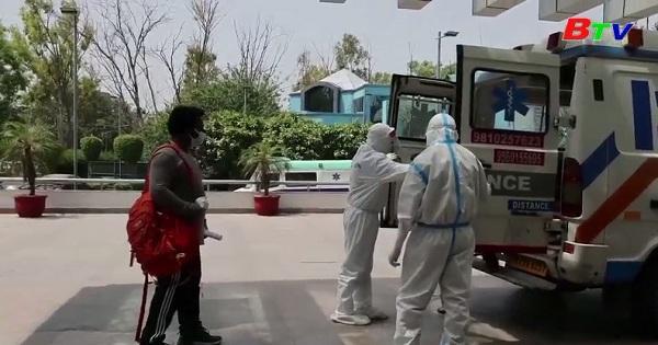 Ấn Độ ghi nhận số ca nhiễm mới kỷ lục