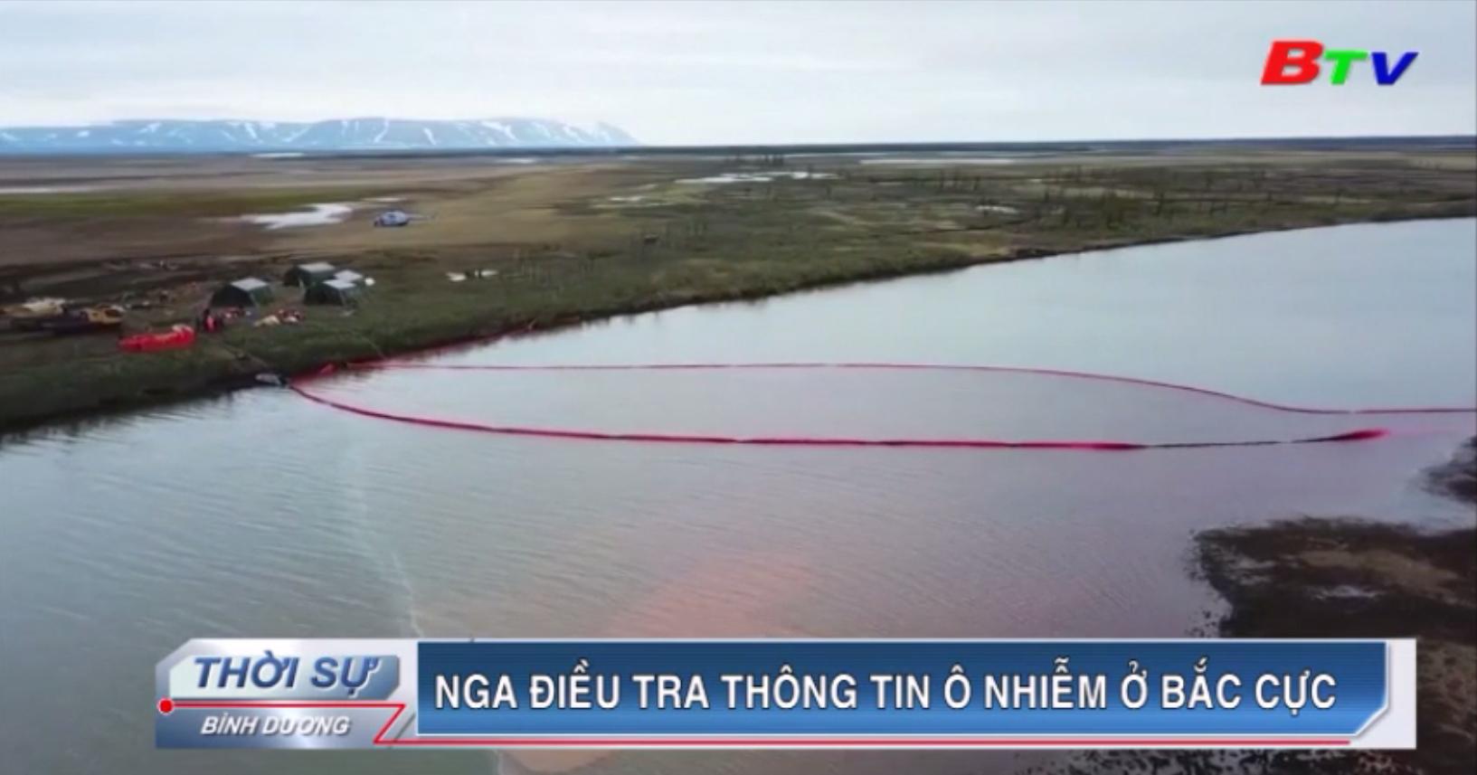 Nga điều tra thông tin ô nhiễm ở Bắc Cực