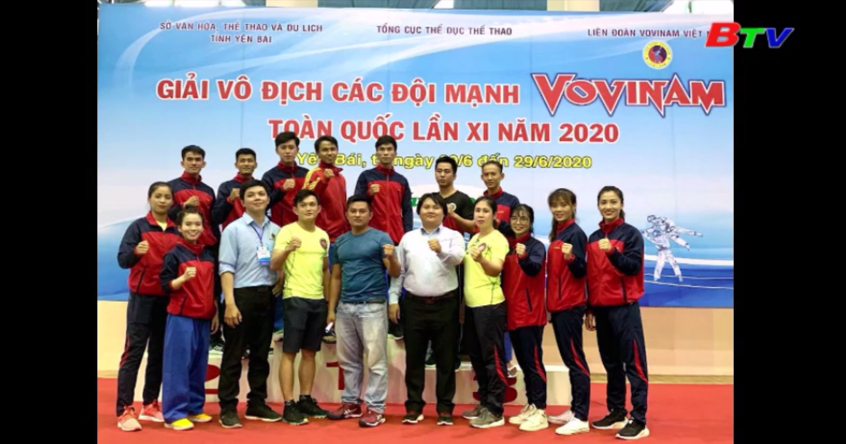 Giải vô địch các đội mạnh Vovinam toàn quốc lần XI – Bình Dương đạt 3 HCV