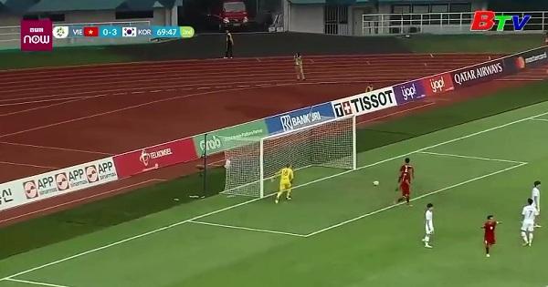 Bán kết môn bóng đá nam ASIAD 2018 - U23 Việt Nam 1 - 3 U23 Hàn Quốc