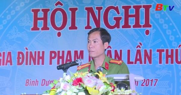 Trại giam Phú Hòa (Bộ Công an) tổ chức Hội nghị gia đình phạm nhân lần I năm 2017