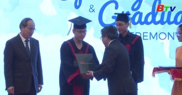 Đại học Việt Đức trao bằng tốt nghiệp và khai giảng năm học mới 2017-2018
