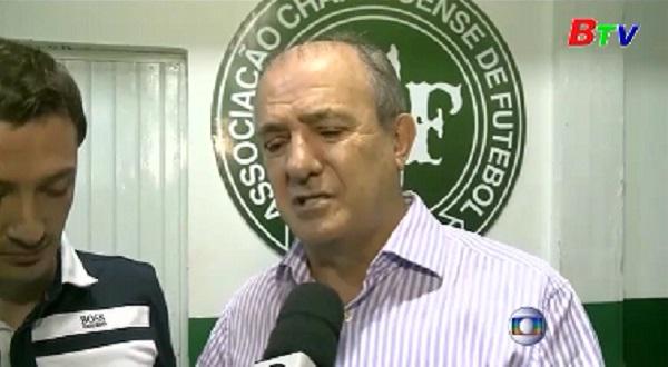 Brazil để quốc tang 3 ngày tưởng niệm nạn nhân thiệt mạng trong vụ rơi máy bay