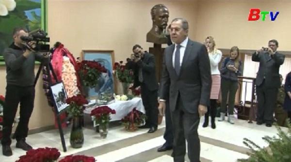 Nhiều nhà lãnh đạo thế giới tham dự tang lễ cố  lãnh tụ Cuba