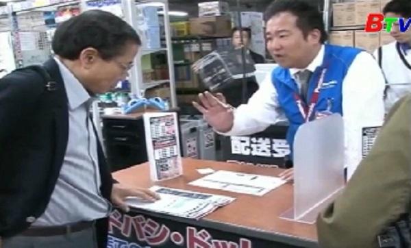 Chi tiêu hộ gia đình ở Nhật Bản giảm 8 tháng liên tiếp