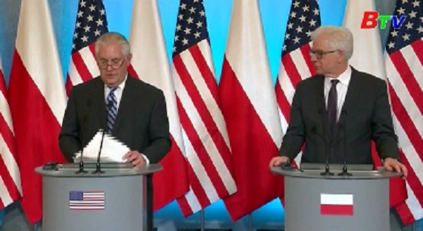 Mỹ và Ba Lan thảo luận về vấn đề năng lượng