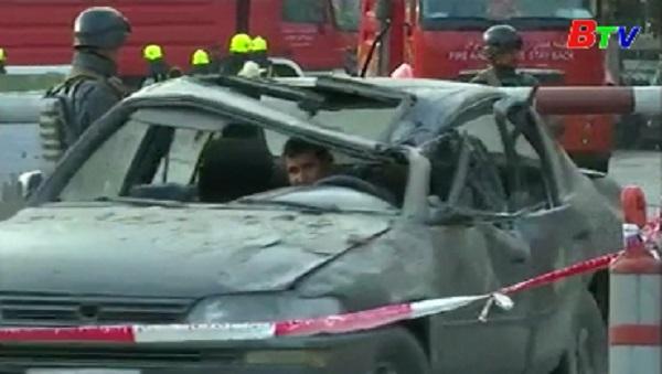 Đã có ít nhất 95 người thiệt mạng trong vụ nổ bom xe ở Kabul