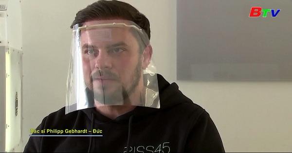 Đức dùng máy in 3D tạo mặt nạ bảo vệ