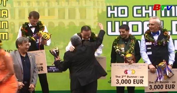 Kết thúc World Cup Bida carom 3 băng Tp.HCM 2017