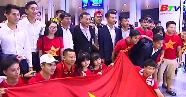 U20 Việt Nam trở về từ Fifa U20 World Cup 2017