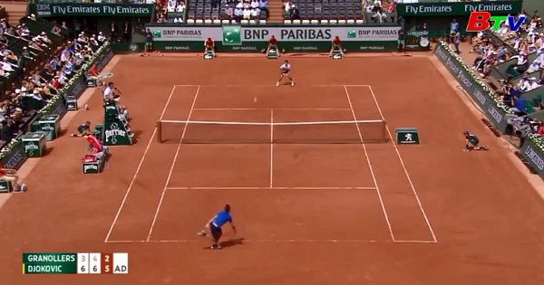 Nadal và Djokovic vào vòng 2 Giải quần vợt Pháp mở rộng 2017