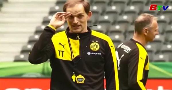 HLV Thomas Tuchel chia tay Dortmund