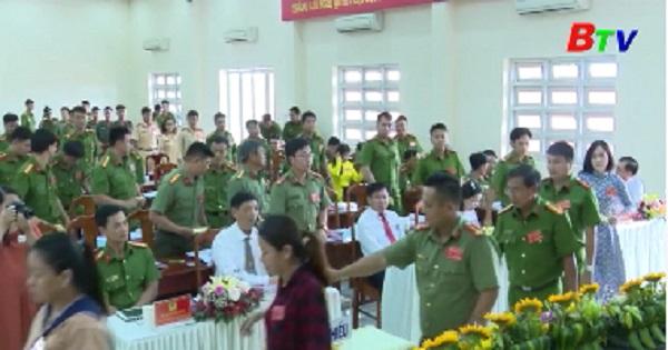 Đảng bộ công an thành phố Thuận An tổ chức đại hội lần XV