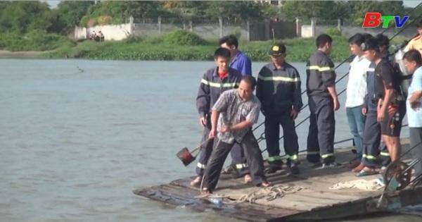 Tai nạn giao thông đường thủy nghiêm trọng tại cảng An Sơn, thị xã Thuận An
