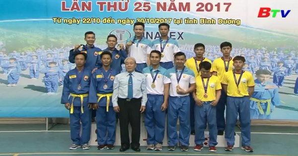 Kết thúc Giải vô địch Vovinam toàn quốc 2017