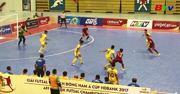 Bảng A - Giải Futsal vô địch Đông Nam Á 2017: Việt Nam 18-0 Brunei