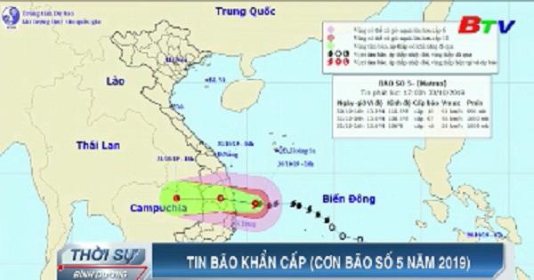 Tin bão khẩn cấp (Cơn bão số năm 2019)