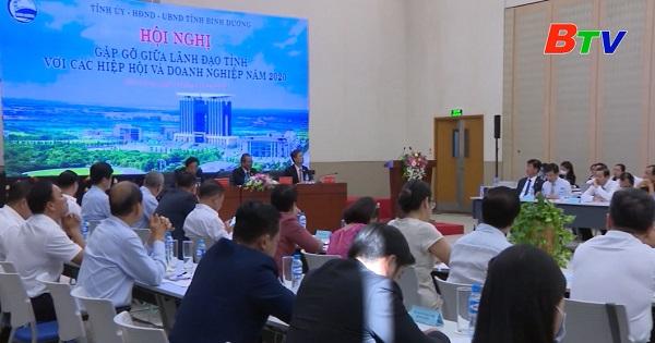 Hội nghị gặp gỡ giữa lãnh đạo tỉnh Bình Dương và doanh nghiệp năm 2020