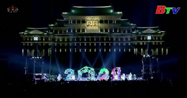 Người dân Triều Tiên đón năm mới