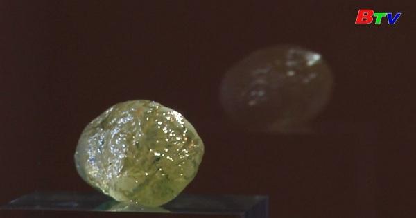 Trưng bày viên kim cương 552 Cara tại New York