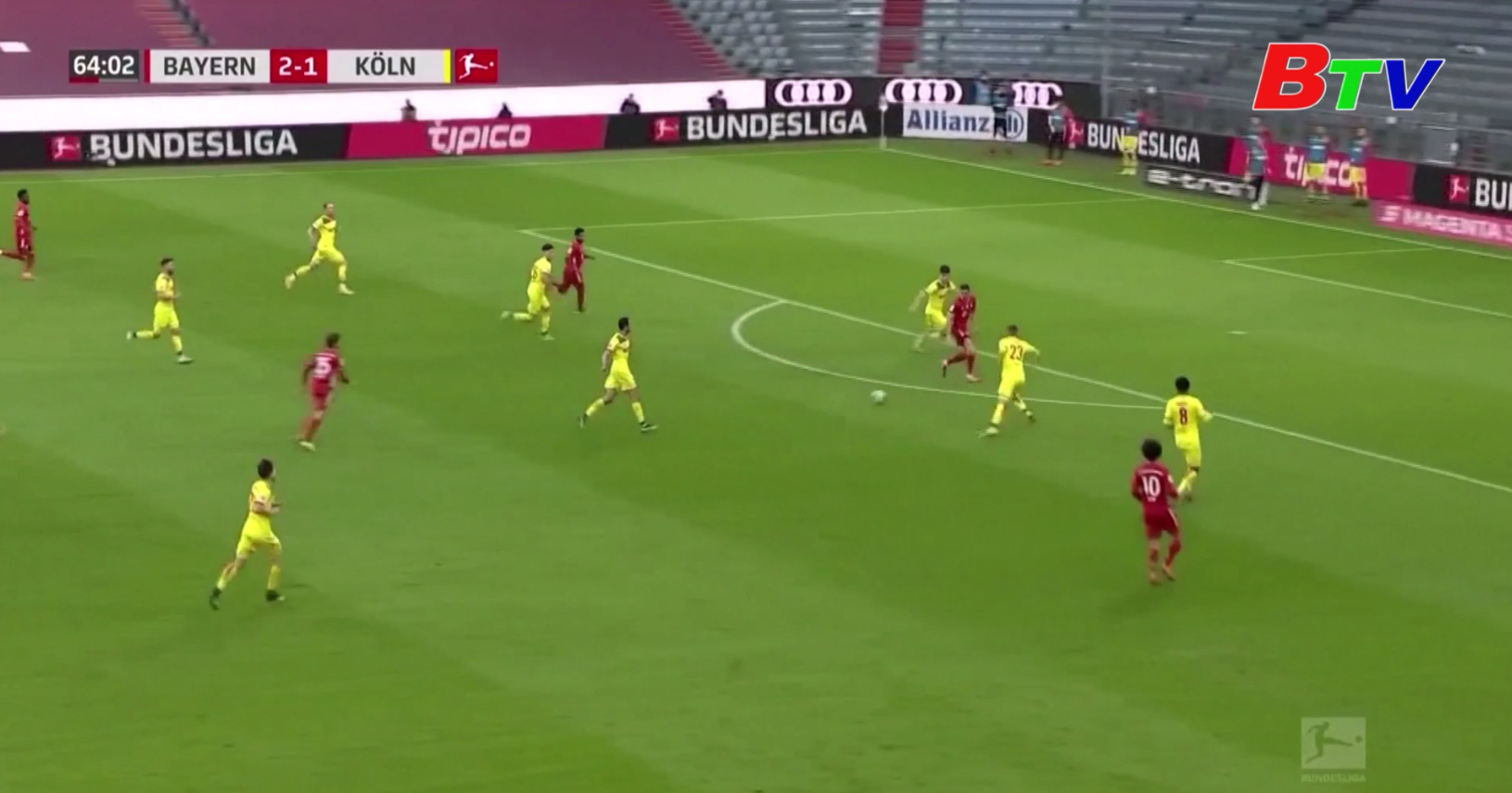 Vòng 23 Bundesliga – Bayern Munich 5-1 Cologne