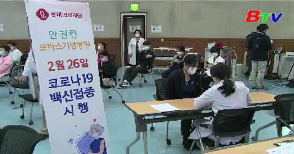 Hàn Quốc sử dụng ống tiêm cải tiến để tiết kiệm vaccine