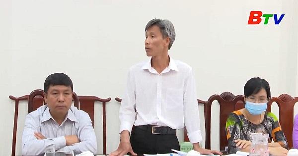 Phú Giáo họp ban chỉ đạo bầu cử