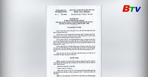 Nghị quyết số 11 của Ủy ban cầu cử