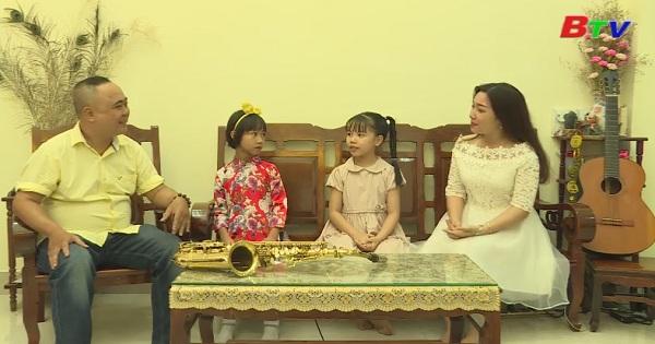 Giao lưu với nhạc sĩ Đoàn Minh Chương và bé Thiên Tú