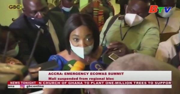ECOWAS đình chỉ tư cách thành viên của Mali