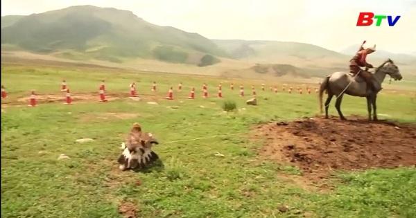Độc đáo lễ hội du mục truyền thống của người  Kyrgzstan