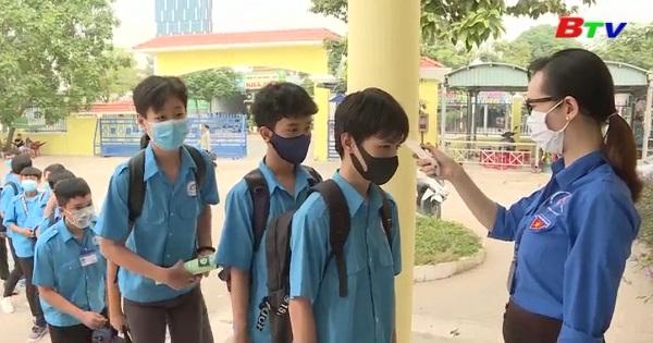 Các trường nghề chủ động phòng chống dịch