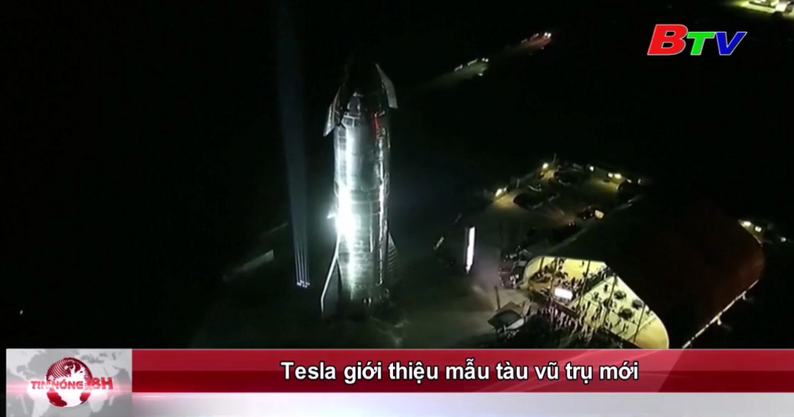 Tesla giới thiệu mẫu tàu vũ trụ mới