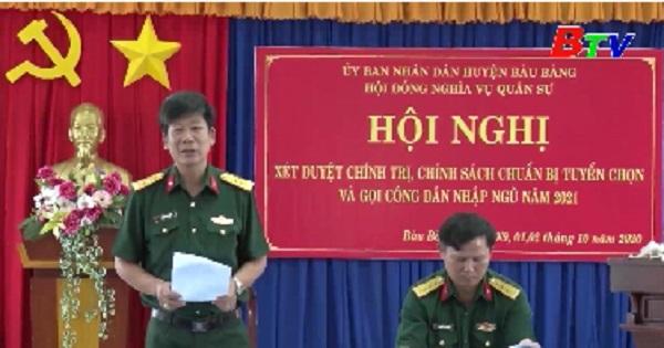 Bàu Bàng xét duyệt chính trị, chính sách chuẩn bị gọi công nhân nhập ngủ