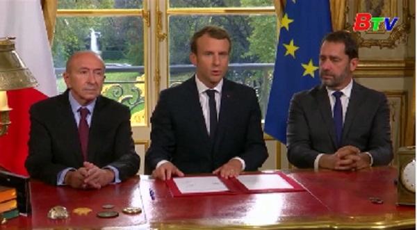 Tổng thống Pháp ký ban hành luật chống khủng bố mới