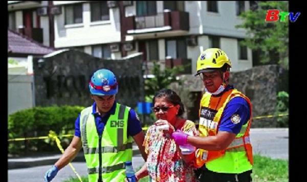 Thiệt hại ban đầu trong trận động đất tại miền Nam Philippines