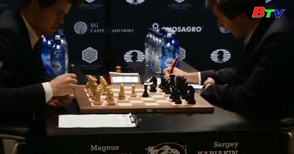 Căng thẳng trận chung kết Giải vô địch cờ vua thế giới