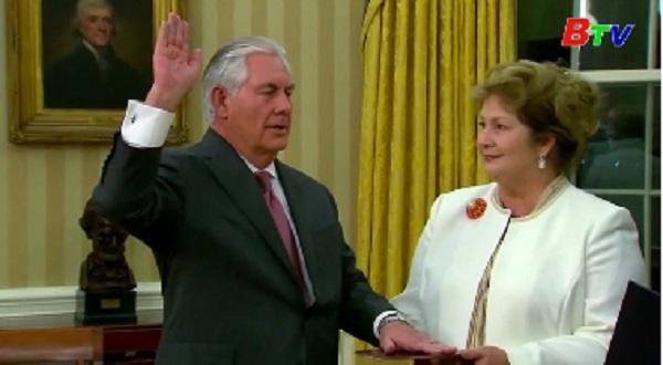 Nhà Trắng bác tin đồn Ngoại trưởng Tillerson sắp bị thay thế